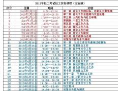 2019年深圳助理社会工作师培训
